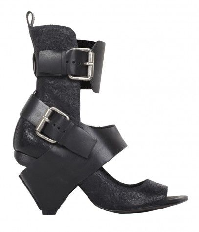love that these All Saints shoes are utterly girlie & scary at the
