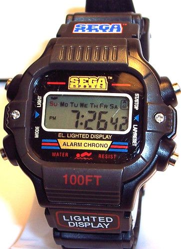 Sega Sports Men's Digital Wrist Watch