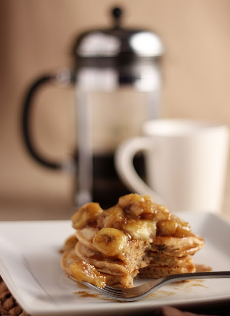 bananas Foster pancakes | Breakfast | Pinterest