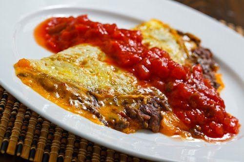 Black Bean Guacamole Omelette | Recipe