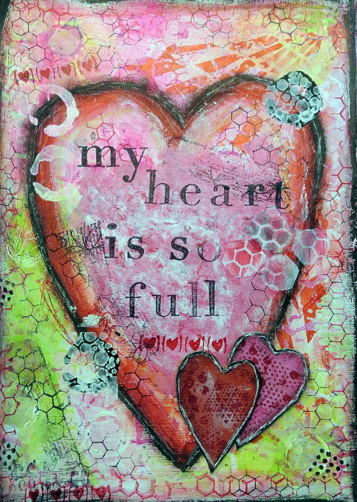 my heart was so full of The means for guarding the heart will come as we  we need these disciplines to stabilize the heart so we can respond  life is full of pain and.