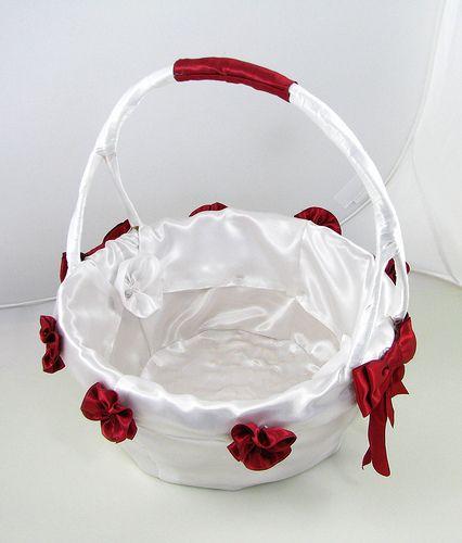 Flower Girl Baskets On Pinterest : Flower girl baskets wedding