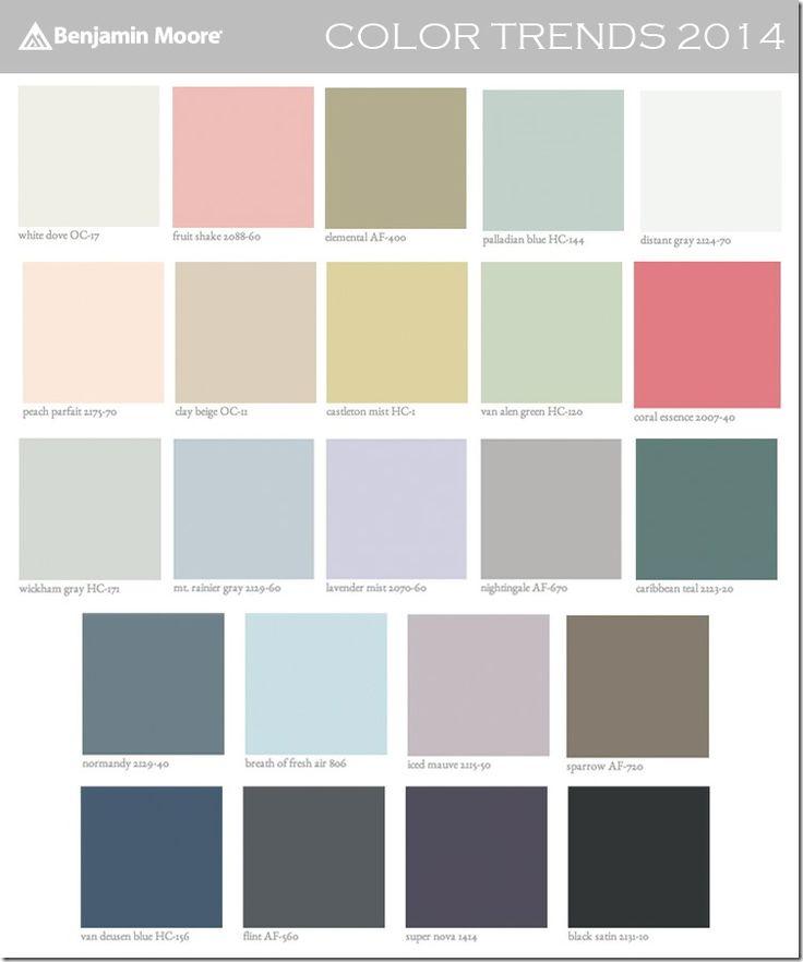 benjamin moore color trends 2014 paint colors benjamin moore