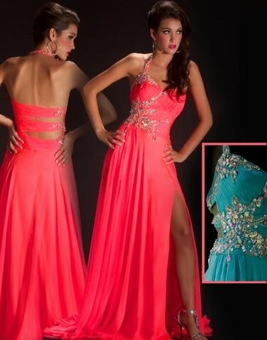 Similiar Neon Colored Prom Dresses Keywords