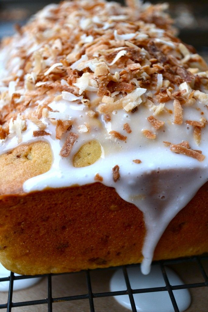 Toasted Coconut Pound Cake | Let them eat Cakes..... | Pinterest