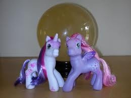 My little ponies, had like 100 of these.