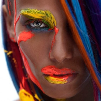 Carl Isaacs - hair and beauty shoot  Johan Wilke Photography