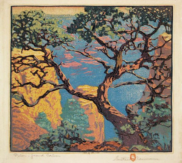 Almost any of Gustave Baumann's work is enough to make me swoon.