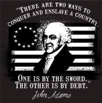 John Adams Quotes Debt Slavery