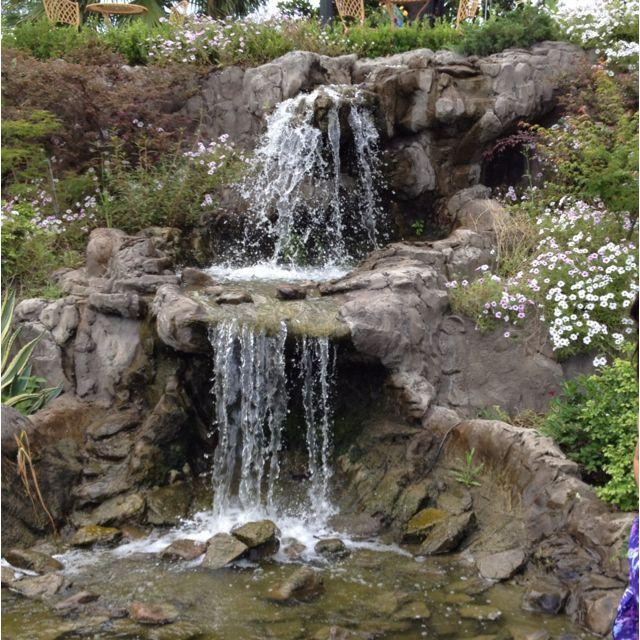 Backyard Waterfalls Images : Backyard waterfall  water falls  Pinterest