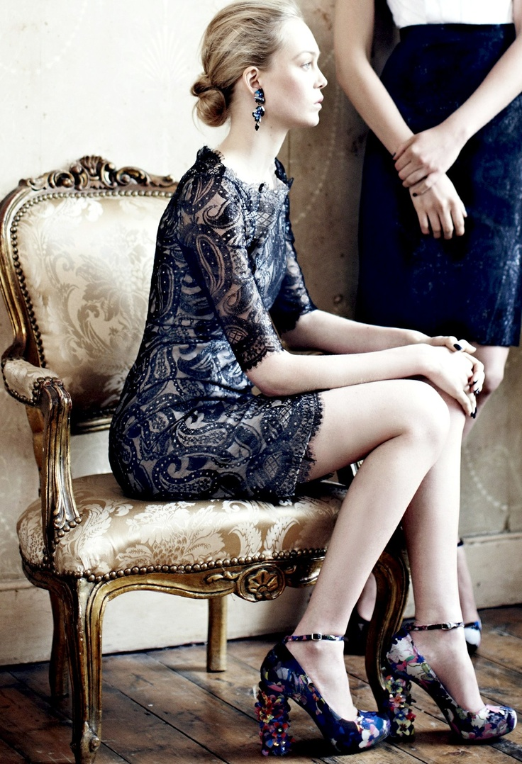 Lace-like by Erdem. And don't miss those shoes.