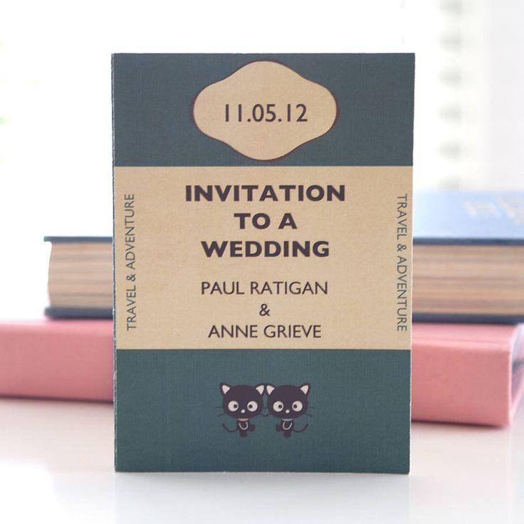 Book Themed Wedding Invitations was very inspiring ideas you may choose for invitation ideas
