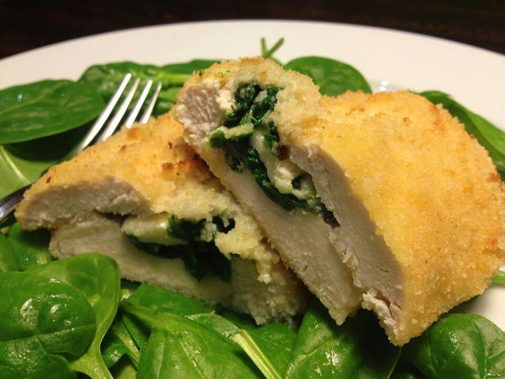 Grilled Chicken With Spinach And Melted Mozzarella Recipes ...