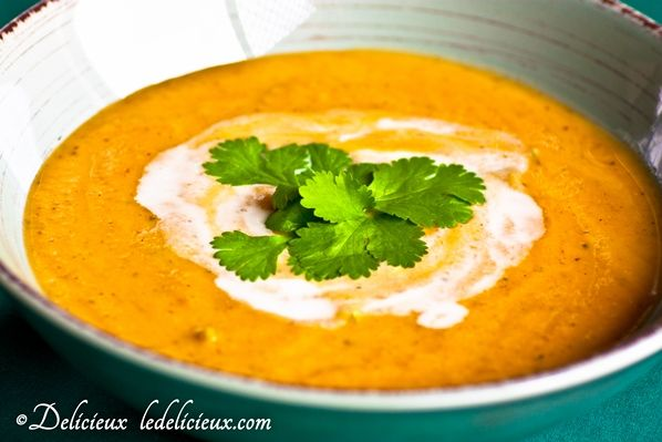 Thai Pumpkin Soup recipe #vegetarian | Get the recipe at ...