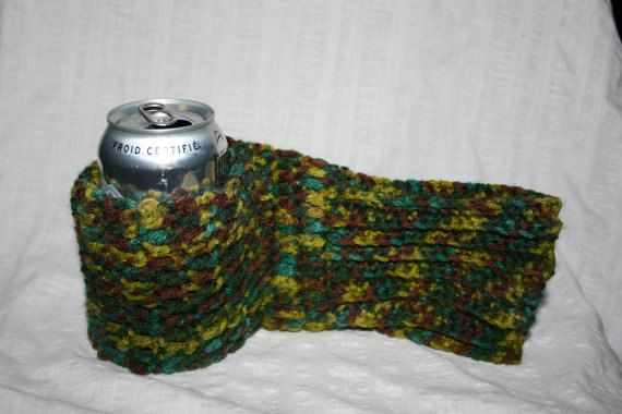 Pattern** Crochet Beer Mitt Hot/cold drink mitt *pattern only