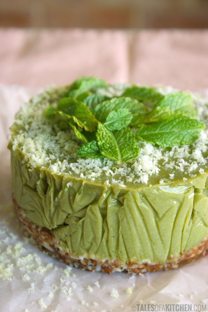 Tropical mango matcha cake made from a green smoothie. Nutrition ...