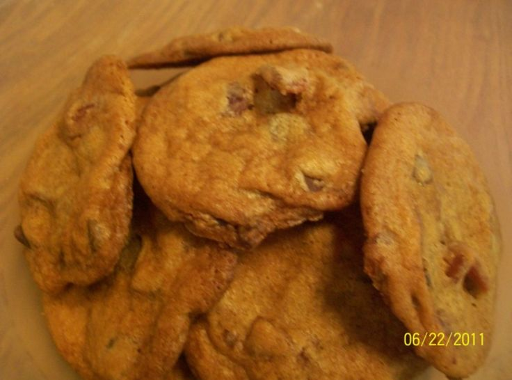 Bacon Chocolate Chip Cookies! | Favorite Recipes | Pinterest