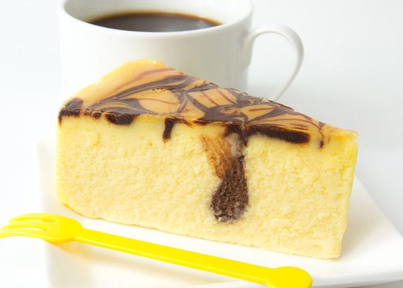 Marbled Pumpkin Cheesecake | FALL | Pinterest