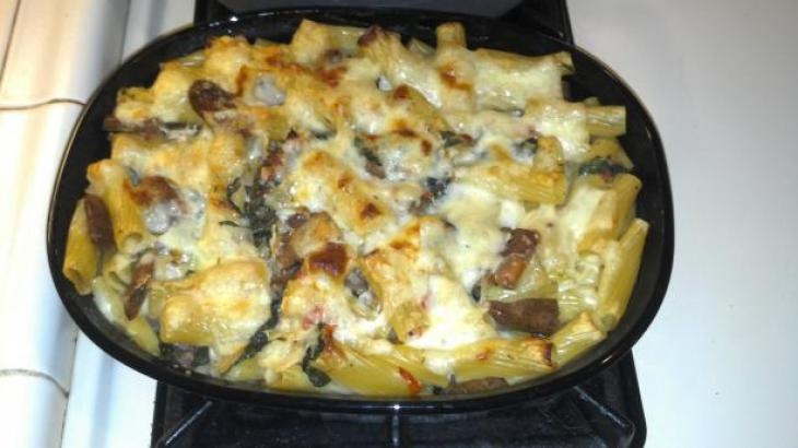 Baked Pasta With Chicken Sausage   I'm here for the food   Pinterest