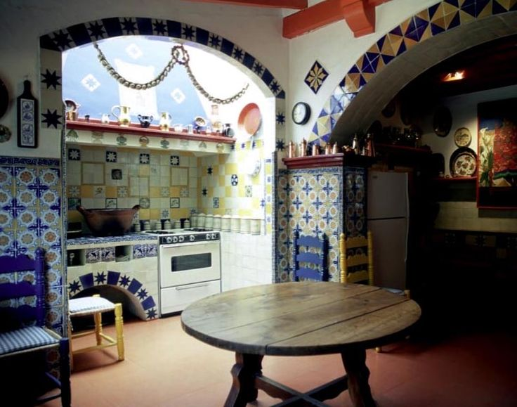 Authentic Mexican Kitchen Design Tiny Kitchens Pinterest