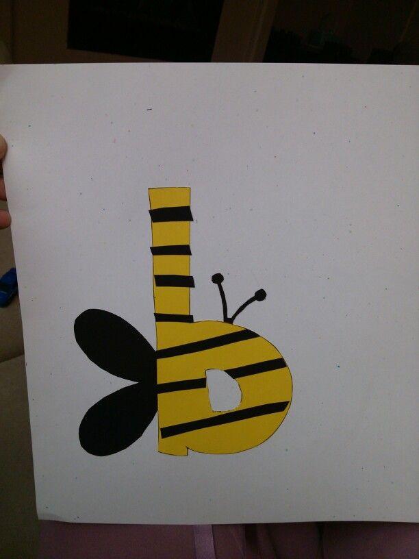 Fun craft for the letter b! | Letter b | Pinterest