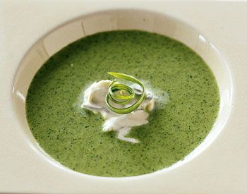 Chilled Watercress Soup with Onion Cream | Health & Fitness | Pintere ...