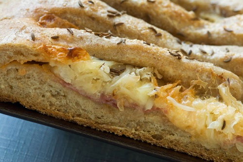 Rustic Reuben Bread   Breads   Pinterest