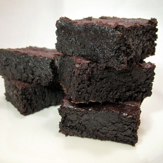 ... knew you could get food on Etsy? Gluten-free dark chocolate brownies