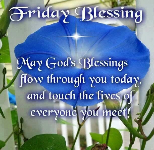 Happy Friday Blessings Quotes Quotesgram