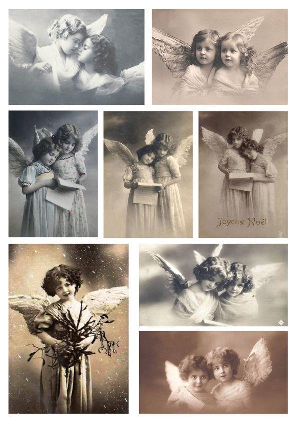 A4 Vintage Angels (15)