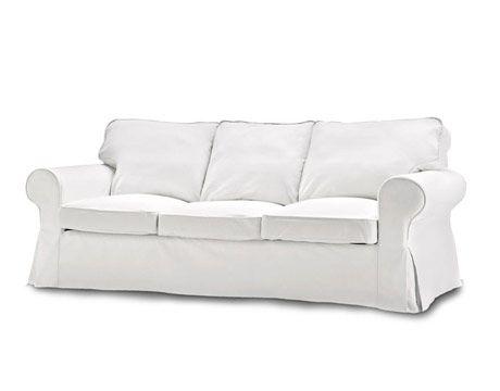 White Sofa Ikea Inside Pinterest