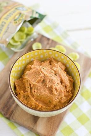 Slow-Roasted Tomato & Basil Hummus + Veggie Hummus Wraps | Recipe