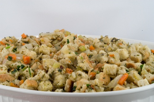 Herbed Bread Stuffing - A Foodie Affair | Recipes to Try | Pinterest