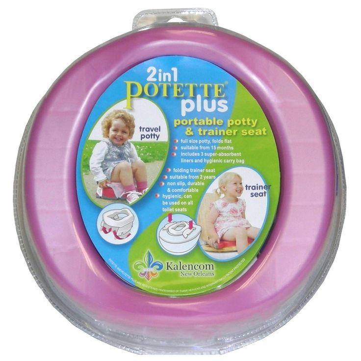 On the go potty potette