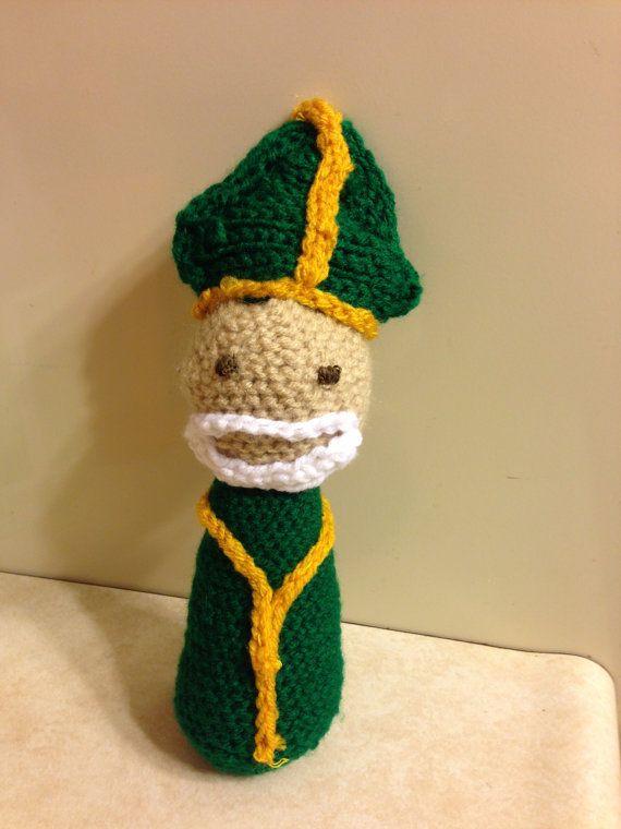 st-patrick-catholic-saint-crochet-doll