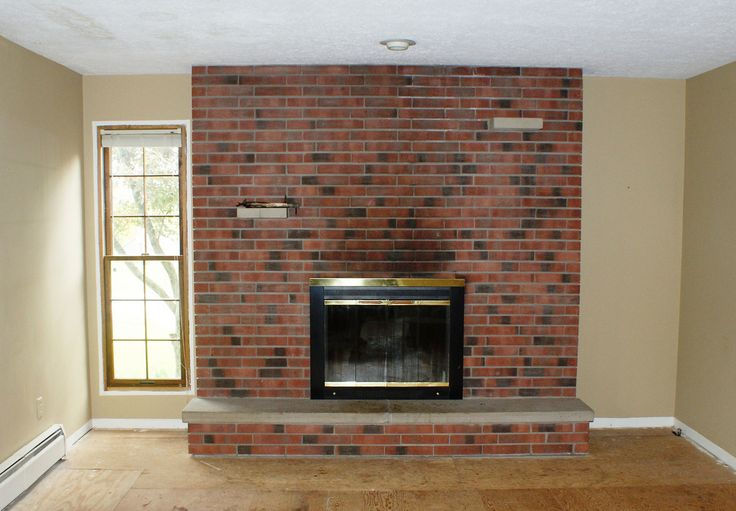 Fireplace Makeover Fireplace Makeover Pinterest