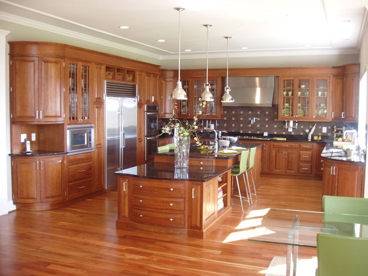Plain fancy custom kitchen dream home pinterest for Fancy kitchen ideas