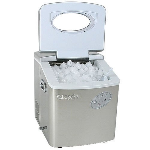 Countertop Ice Maker How Does It Work : Portable Countertop Ice Maker Machine - EdgeStar http://shorl.com ...