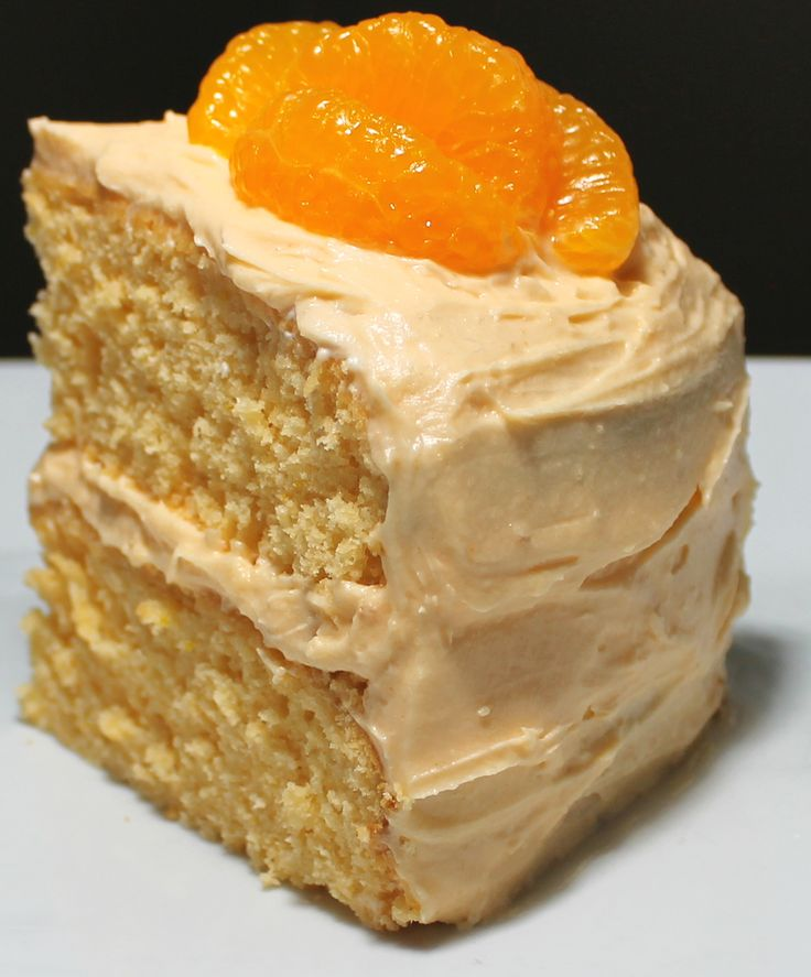 Orange Layer Cake with Orange Frosting | Simply Sweet | Pinterest