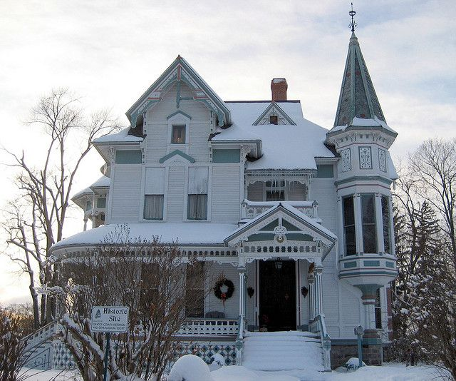 Pin by nancy davis on victorian homes pinterest for 3 4 houses in michigan