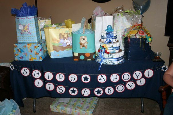ships ahoy it 39 s a boy baby shower theme hlw 39 s baby shower ideas