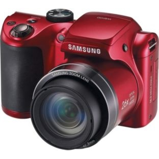 Buy Samsung EC-WB100 16MP Bridge Camera - Red at Argos.co.uk - Your