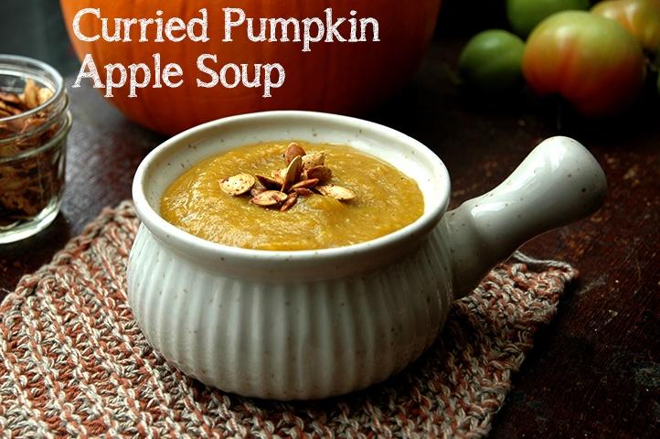 Curried Pumpkin Soup | food . autumn | Pinterest