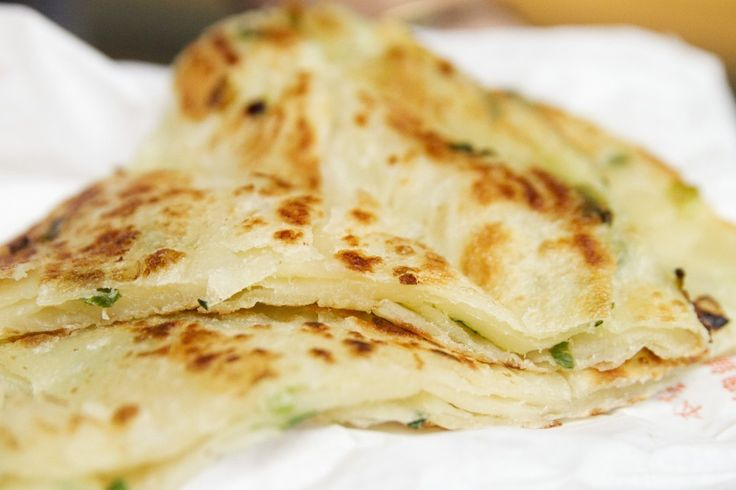 Chinese Scallion Pancakes. I would definitely make these again, and ...