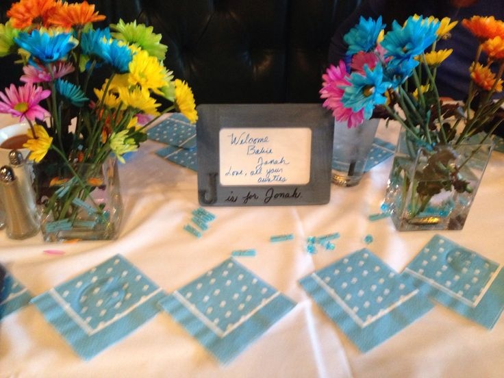 simple baby shower decorations for baby shower at a restaurant baby