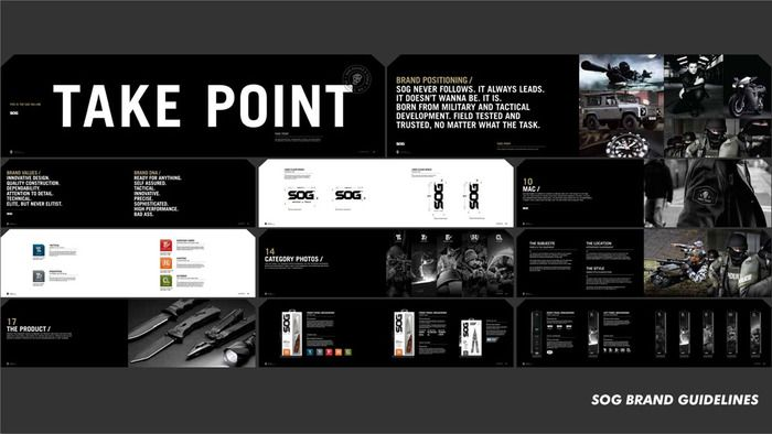 Process a case study on sog knives part ii the dieline