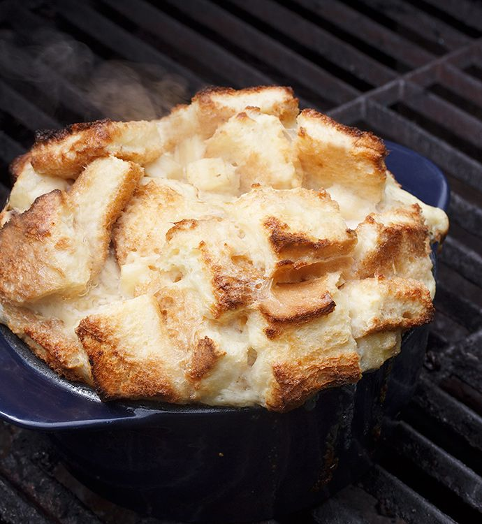 Banana Bread Pudding with Coconut Caramel Sauce - Courtesy of Seasons ...