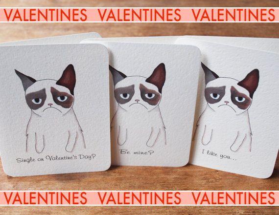 grumpy cat valentines day cookies
