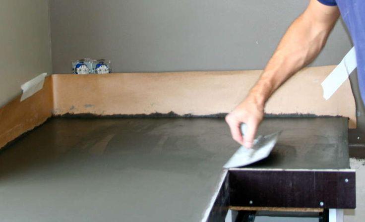 Zelf Keuken Maken Beton : 3Cb%3EBetonnen%20blad%20glad%20maken%20eiken%20keuken%3C/b%3E