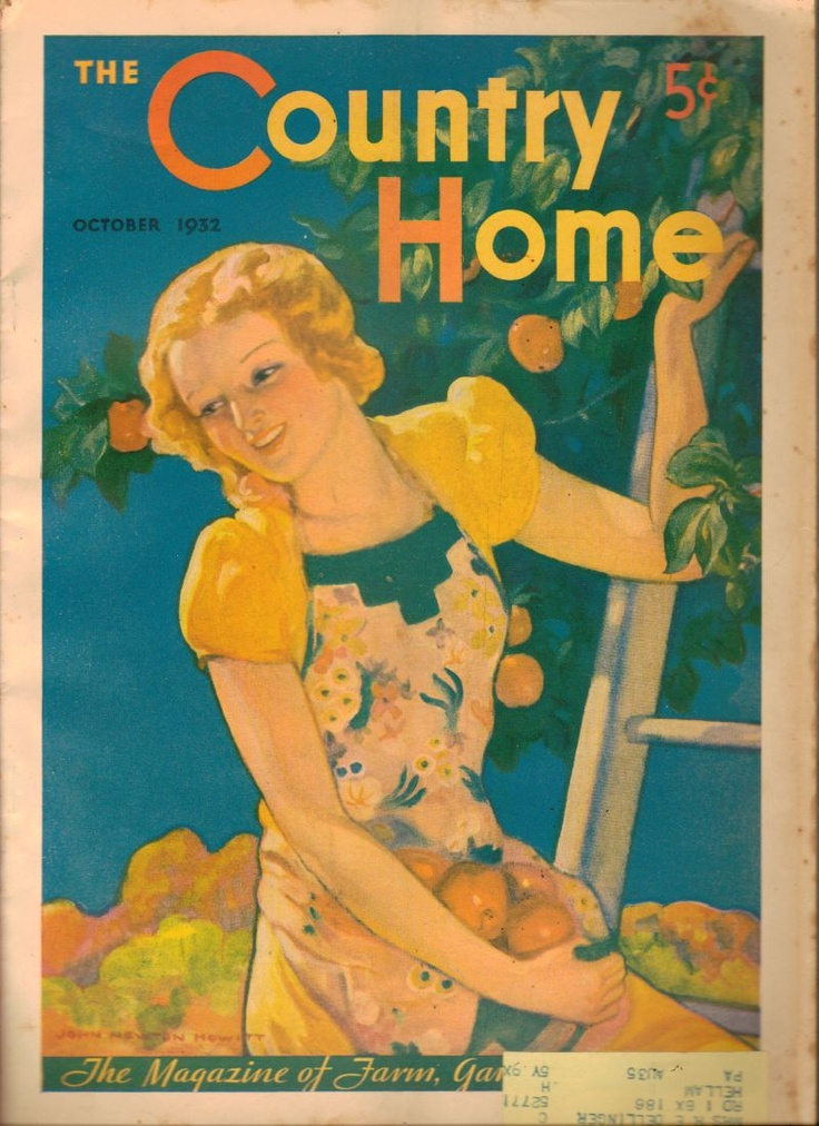 The Country Home Magazine October 1932 Farm and Garden